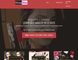 wiseshe.com screenshot