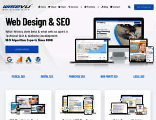 wisevu.com screenshot
