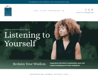 wisewomanherbals.com screenshot