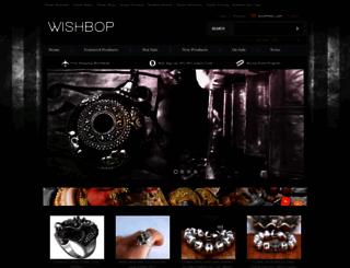 wishbop.com screenshot