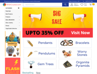 wishcrystal.com screenshot