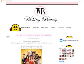 wishingbeauty.blogspot.com.tr screenshot