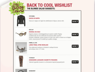 wishlist.theblondesalad.com screenshot