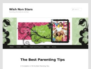 wishnonstars.com screenshot