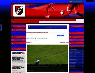 wisla-ustronianka.futbolowo.pl screenshot