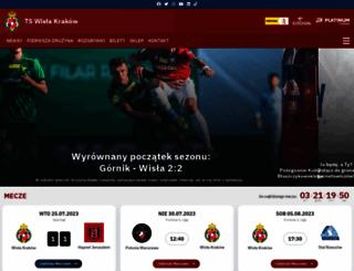 wislakrakow.com screenshot