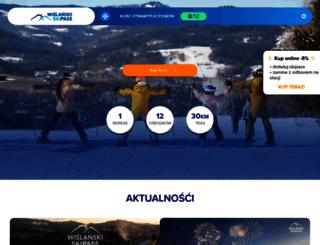 wislanskiskipass.pl screenshot