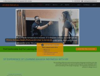 wisma-bahasa.com screenshot