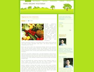 wisnuvegetarianorganic.wordpress.com screenshot