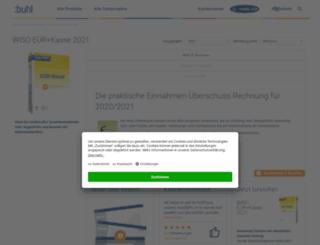 wiso-kassenbuch.de screenshot