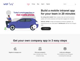 wispapp.com screenshot