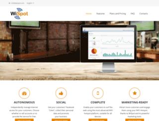 wispot.com screenshot