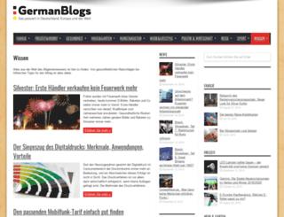 wissen.germanblogs.de screenshot