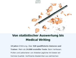 wissenschaftsberater.org screenshot