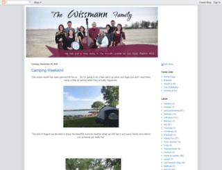 wissmanns.blogspot.com screenshot