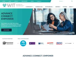 wit.org.au screenshot