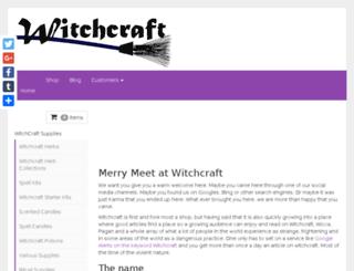 witchcraft.com screenshot