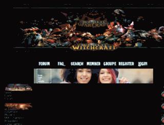 witchcraft.wowjdr.com screenshot