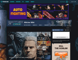 witcher.wikia.com screenshot