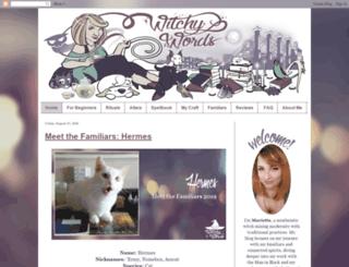 witchywords.com screenshot