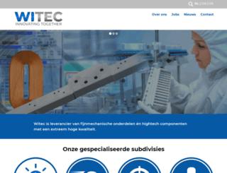 witec.nl screenshot
