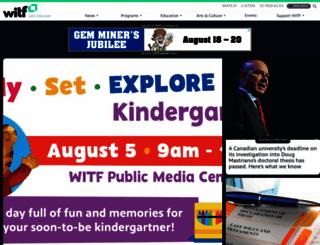 witf.org screenshot