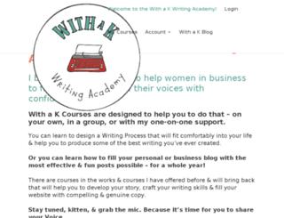 withakcourses.com screenshot