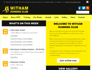 withamrc.co.uk screenshot