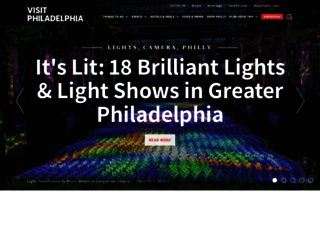 withart.visitphilly.com screenshot