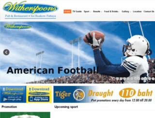 witherspoonspattaya.com screenshot