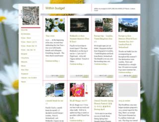 withinbudget.wordpress.com screenshot