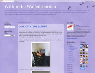 withinthewalledgarden.blogspot.com screenshot