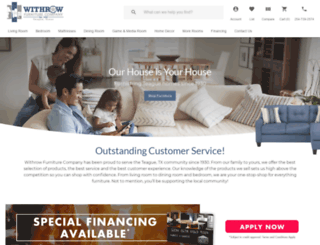 withrowfurniture.com screenshot
