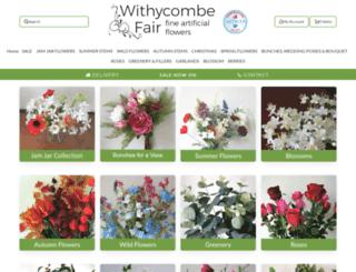 withycombefair.co.uk screenshot