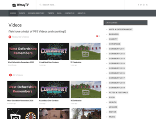 witneytv.co.uk screenshot