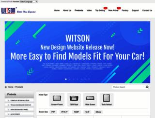 witson.com screenshot