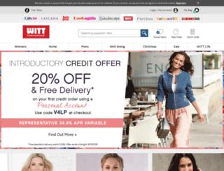 witt-international.co.uk screenshot
