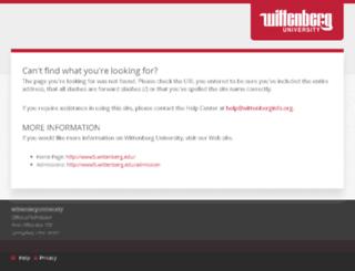 wittenberginfo.org screenshot