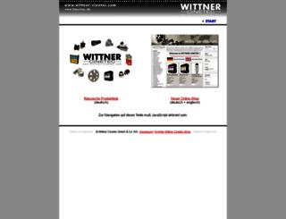 wittner-kinotechnik.de screenshot