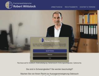 wittstock-thormeyer.de screenshot