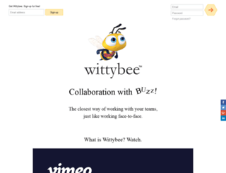 wittybee.com screenshot