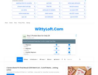 wittyloft.com screenshot