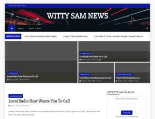 wittysam.com screenshot