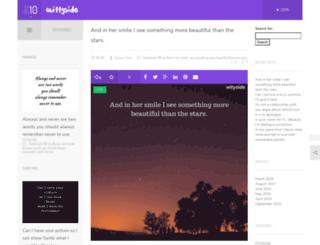 wittyside.com screenshot