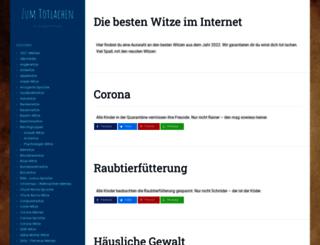 witze-ueber-witze.de screenshot