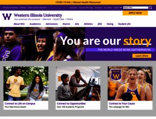 wiu.edu screenshot