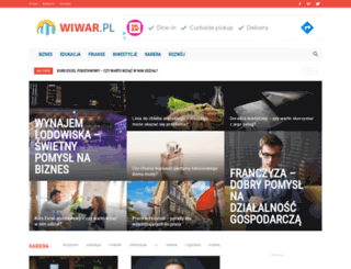 wiwar.pl screenshot