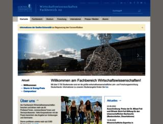 wiwi.uni-frankfurt.de screenshot