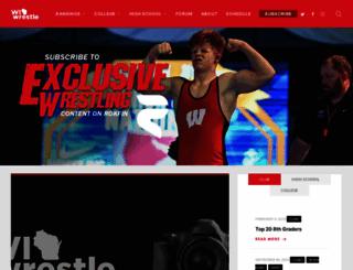 wiwrestling.com screenshot