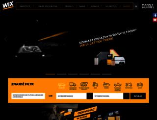wixeurope.com screenshot